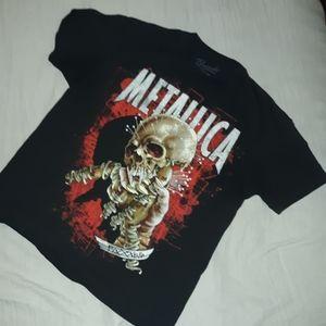 Metallica band t Shirt Size xl